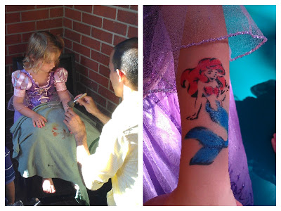 POD: Violet's First Tatoo