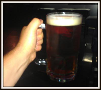 POD: Enjoying a small beer