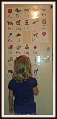 POD: Violet studies her new letter