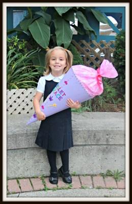 POD: Violet's Schultüte (School Cone)