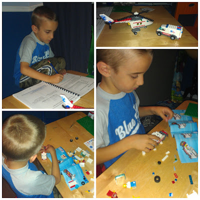 POD; Homework and Lego