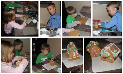 POD: Building Gingerbread Houses