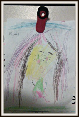POD: Violet's portrait of Mommy