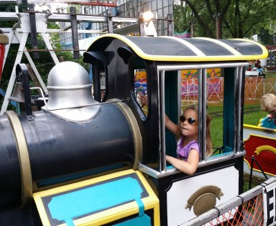 POD: Violet the Train Conductor
