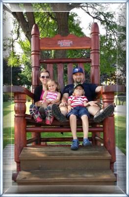 POD: Family relaxes