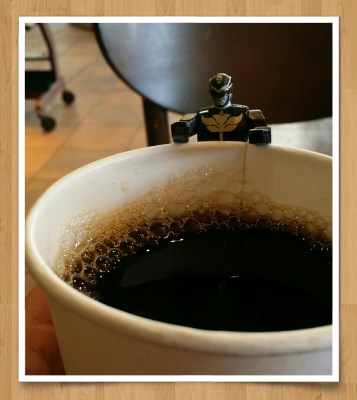 POD: Coffee with a Power Ranger