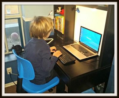 POD: Jacob at his Desk