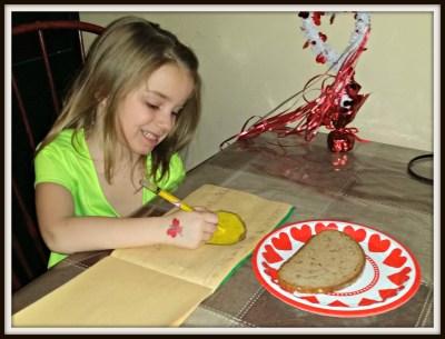 POD: Violet does her Homework