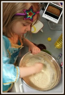 POD: Our Princess Helps Bake