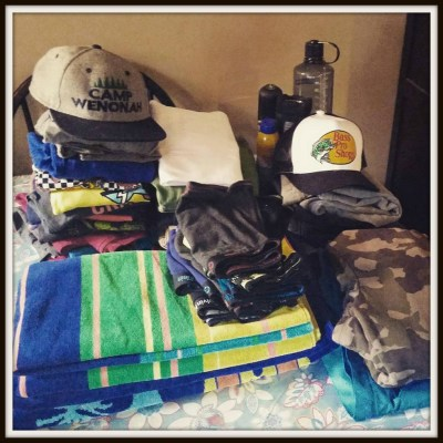 POD: Packing For Camp