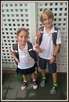 POD: First Day of school 2015