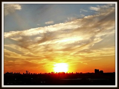 POD: The setting sun