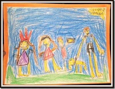 POD: Violet's Family Portrait