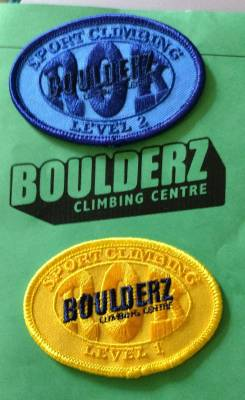 POD: Climbing Badges