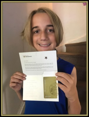 POD: Gold Card for Jacob