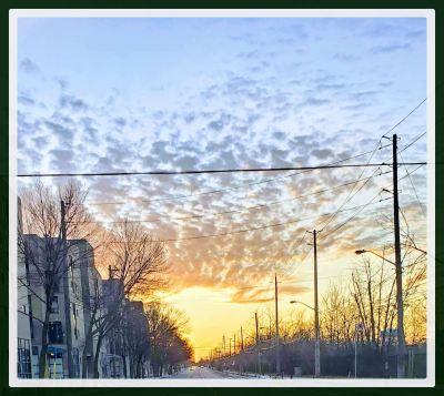 POD: Evening sky