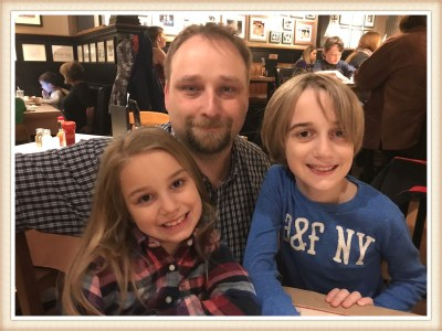 POD: Turning 40 with Family