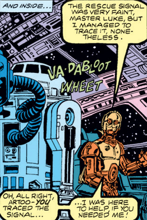 1-C3PO and R2D2