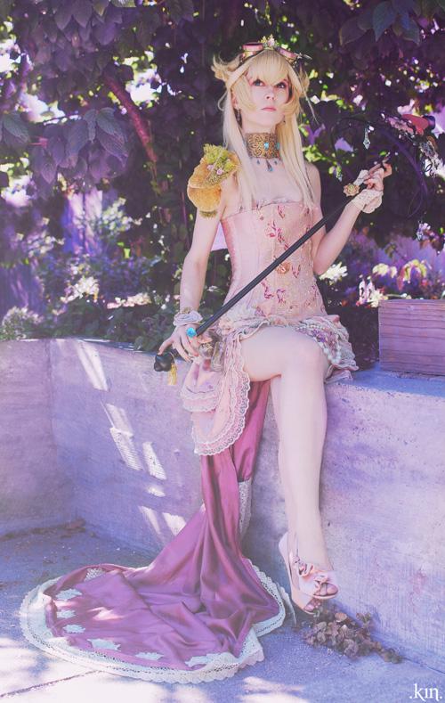 Steampunk Princess Peach