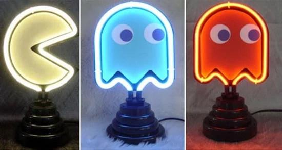 Neon Pacman Lights