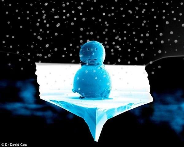 The World's Smallest Snowman