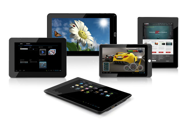 Coby ICS 4.0 tablets