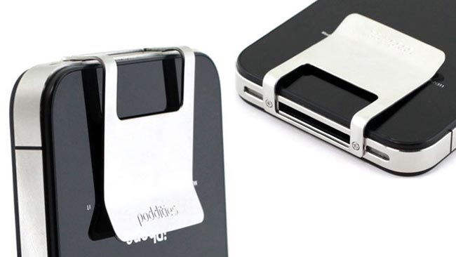 Poddities Adds A Money Clip To Your iPhone