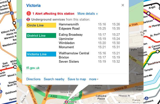 London Underground Alerts