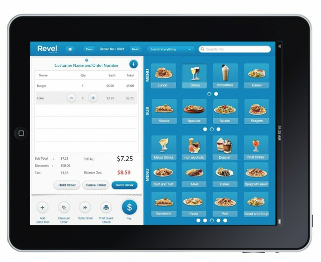 Revel IPad Retail Point Of Sale System Video
