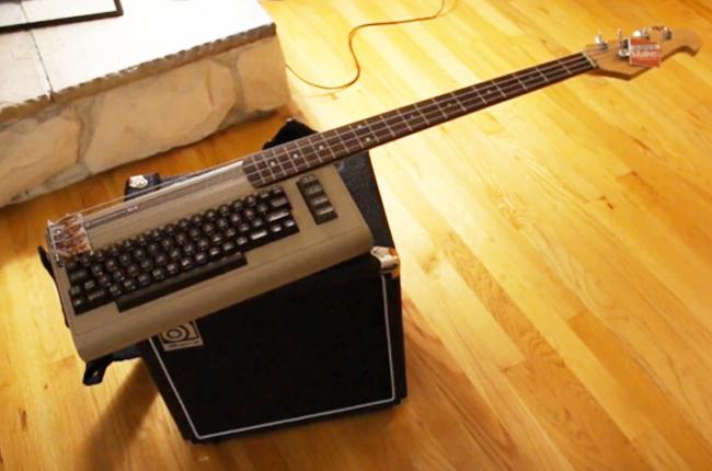 C64 Bass keytar