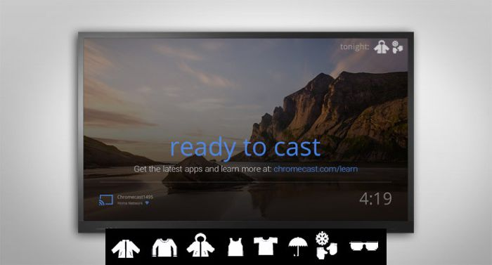 Image result for google chrome cast screen
