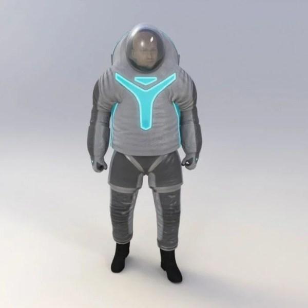 NASA Z-2 Space Suit Prototype Announced