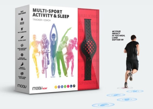 Moov Now fitness tracker