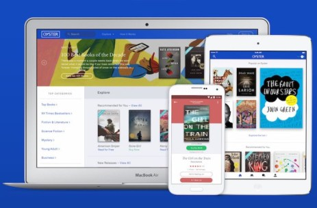 Oyster E-Book Subscription Service Shutting Down