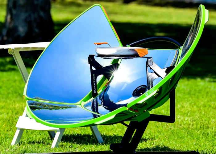 SolSource Sport Solar Cooker Video Geeky Gadgets