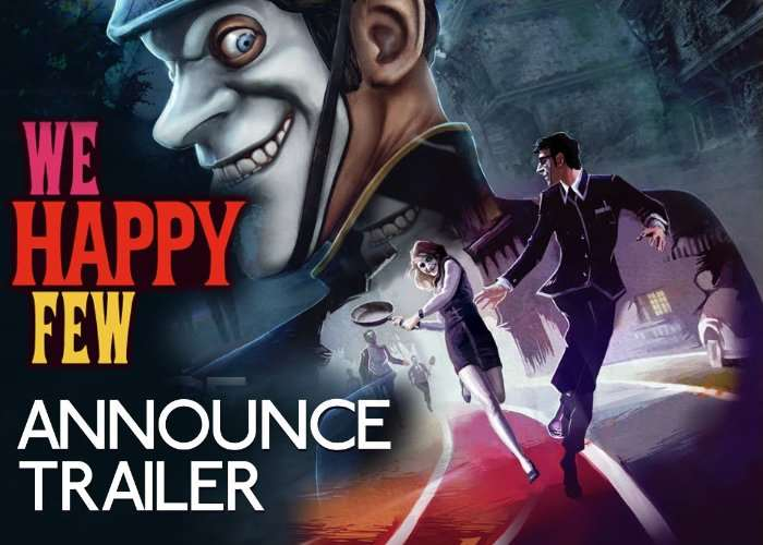 We Happy Few Survival Horror Launches April 13th 2018