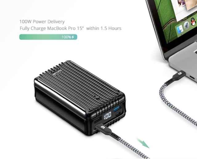 SuperTank portable charger