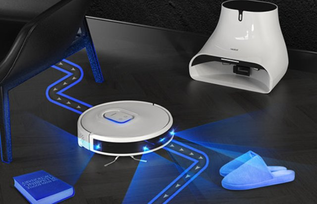 Neabot robot vacuum cleaner and mop