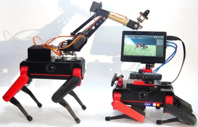 TiBeast programmable robot dog