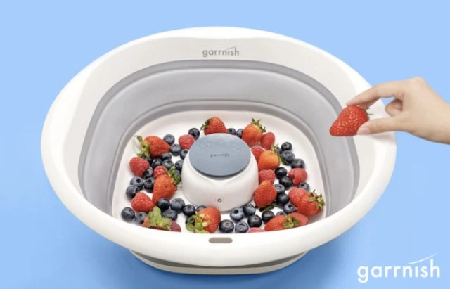 Garrnish pesticide purifier deep cleans