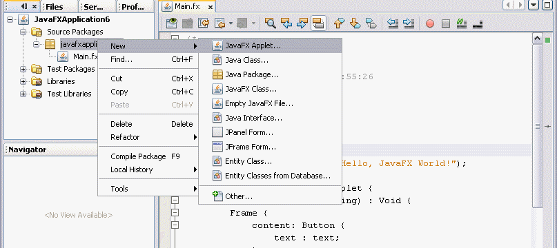 Basic Applet Program in Java