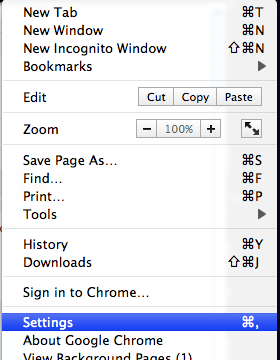 """How to Disable """"Save Password"""" Option in Google Chrome(Mac OS X)"""