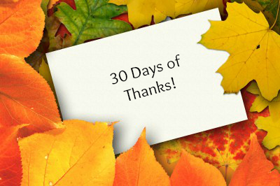 30 Days of Thanks 2013 Day 10: Rumor Has It by Jill Shavis | Creative Deeds