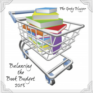 Balancing the Book Budget: May 2013 Check-In