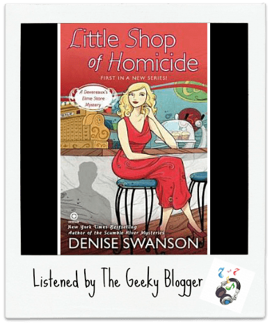 Audiobook Review: Little Shop of Homicide by Denise Swanson