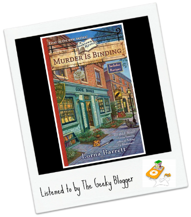 Audiobook Review: Murder is Binding by Lorna Barrett/Narrated by Cassandra Campbell