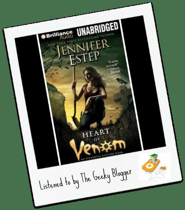 Audiobook Review: Heart of Venom by Jennifer Estep