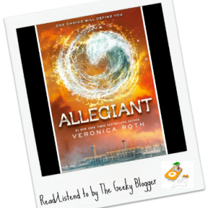 Discussion: Allegiant by Veronica Roth