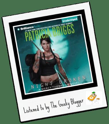 Audiobook Review: Night Broken by Patricia Briggs