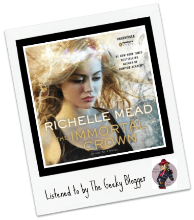 Audiobook Review: The Immortal Crown by Richelle Mead